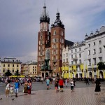 Cracovia : Basilica Santa Maria ( Kościół Mariacki )